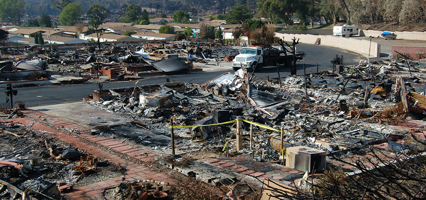 Property Damage From Wildefire