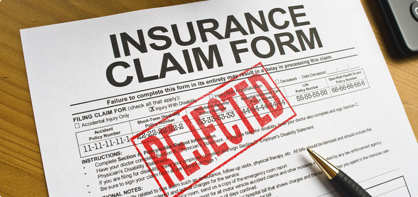 Insurance Claim Gets Rejected